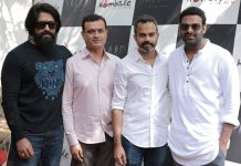 Prabhas Salaar launched in the presence of Yash