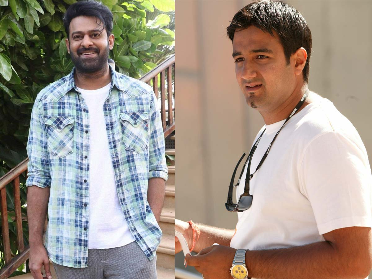 Prabhas is talk with Siddharth Anand for a film