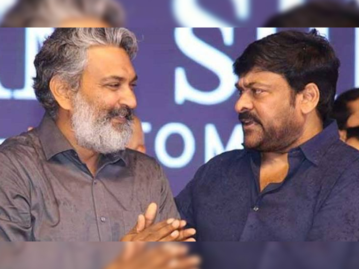 Rajamouli approaches Chiranjeevi for his voice