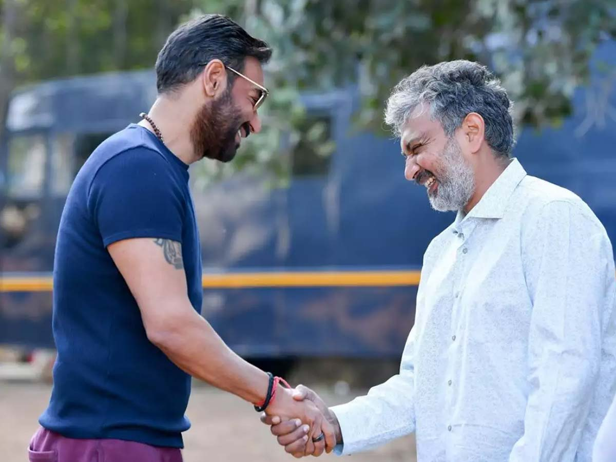 Rajamouli indirect support to Ajay Devgn Mayday