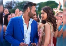 Rakul Preet Singh Thank God with Ajay Devgn