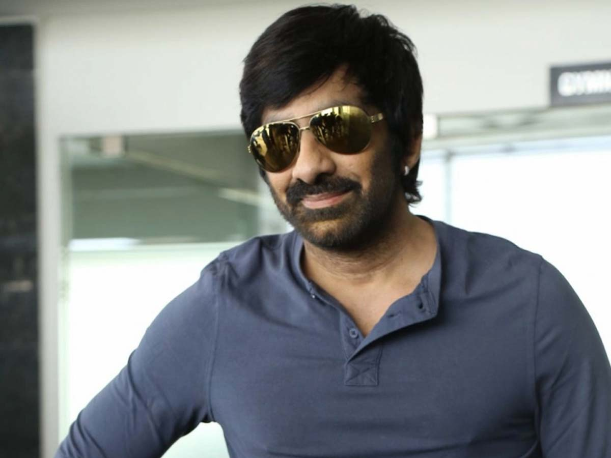 Ravi Teja shaking a leg for a Hollywood song in gym
