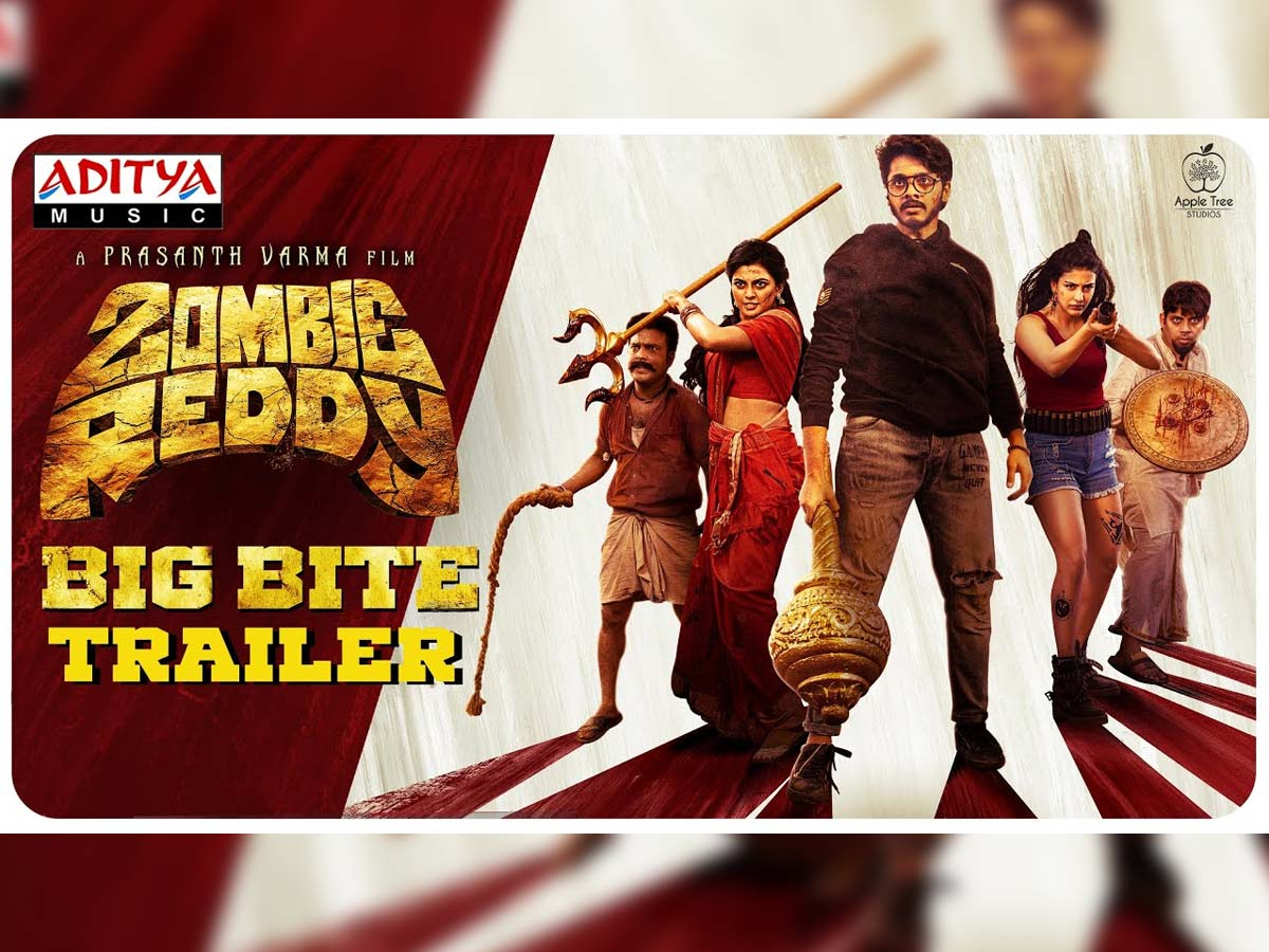 Rib-tickling moments in Zombie Reddy trailer