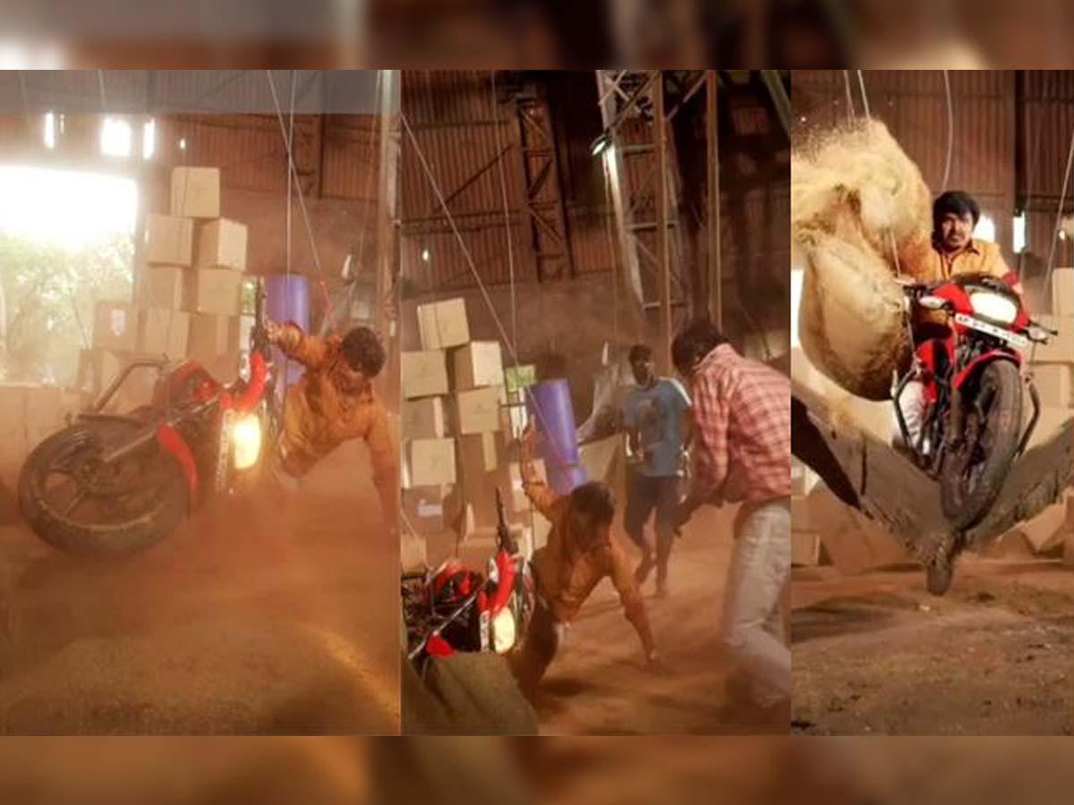 Sampoornesh Babu gets injured in action