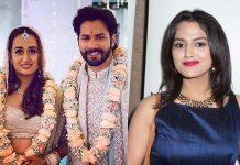 Nani's heroine satirical post about Varun's wedding