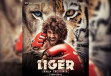 Special boxing stage and auditorium for Vijay Deverakonda Liger