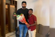 Varun Tej meets his super-fan who walks 200 Kms from Bikkanuru to Hyderabad to meet him