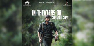 Virata Parvam to hit big screens on 30th April