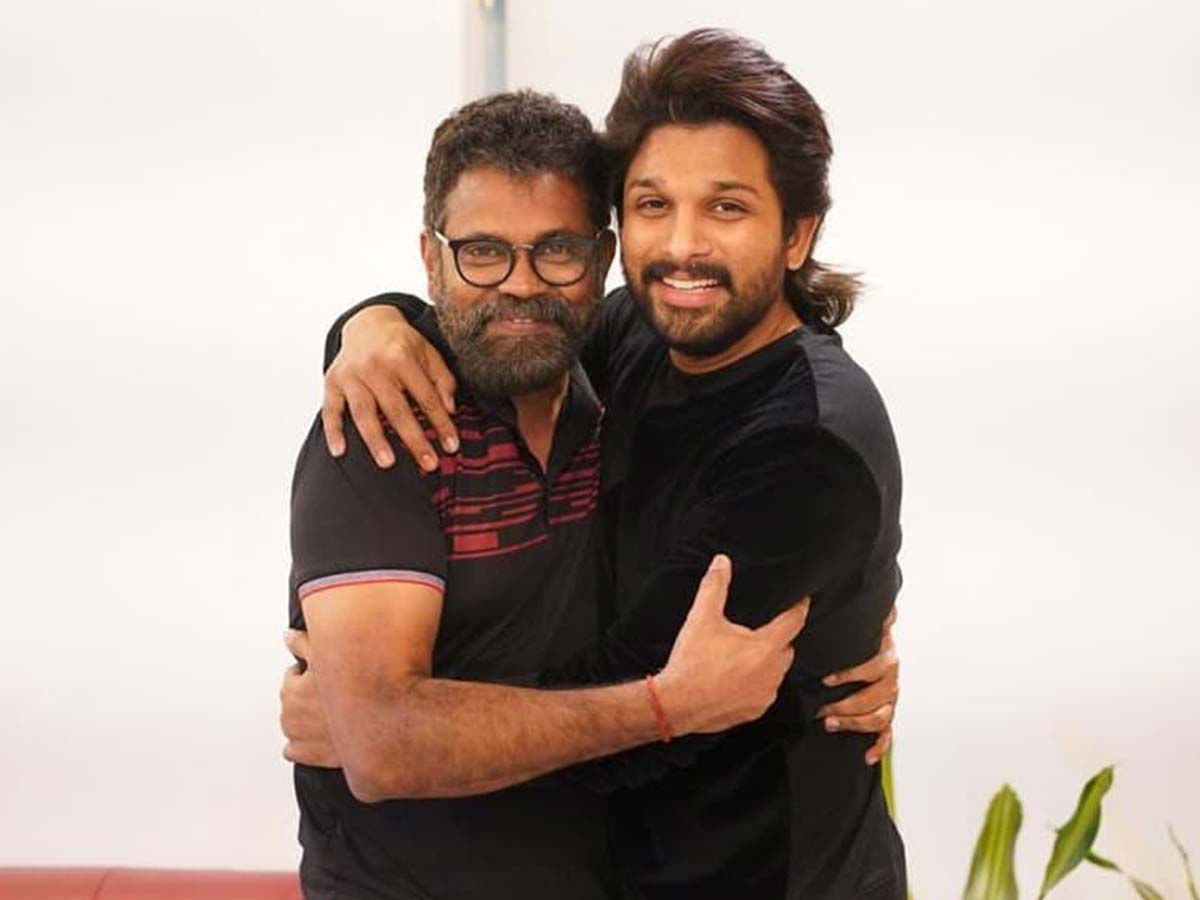 Allu Arjun darling on one side and Sukku Bhai on the other