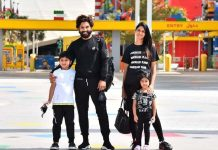 Allu Arjun mini holiday with family in Dubai