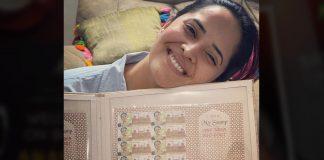Anasuya deserve it: She gets her own postal stamps