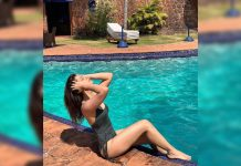 Bikini girl Raashi Khanna says: Sunshine, poolside, downtime