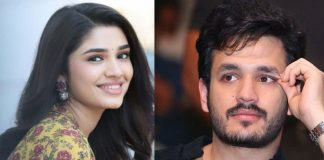 Krithi Shetty name links with Akhil Akkineni