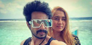 Love birds Vishnu Vishal and Jwala Gutta enjoying in Maldives