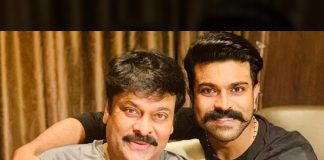Now its  Acharya time for Ram Charan and Chiranjeevi action