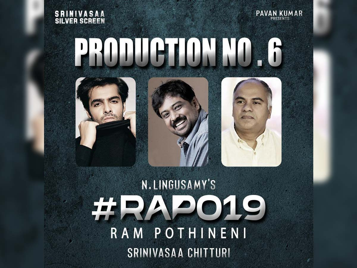 Official: Ram Pothineni bilingual film with Lingusamy