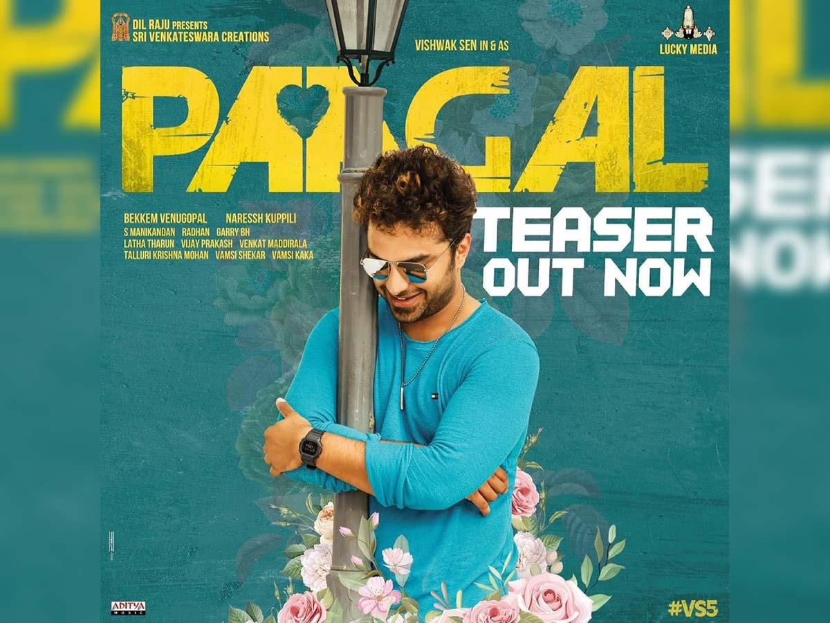 Paagal teaser: true to the title