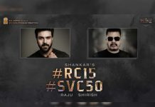 Ram Charan and Shankar film- A Racy Political thriller