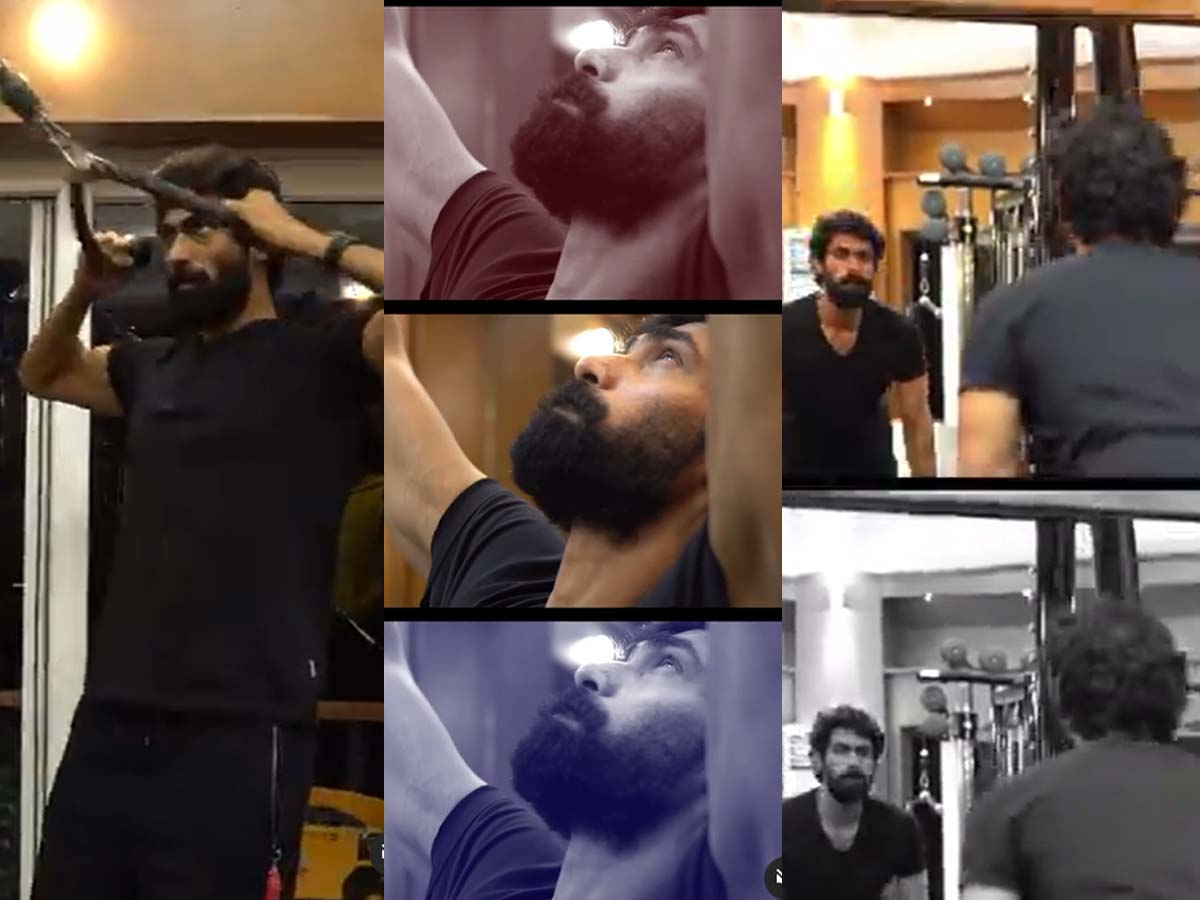 Rana Daggubati lifts heavy weights for becoming Hulk