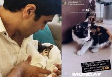 Renu Desai thanks Adivi Sesh for this little one