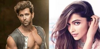 This time Hrithik Roshan is Ram and Prabhas herione Deepika is his Sita