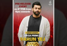 Varun Teja aka Ghani turns Chief guest for Zombie Reddy