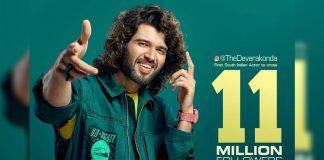 #11MillionRowdiesOnInsta! Vijay Deverakonda rare feat