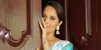 Anasuya Bharadwaj fitting reply to troller