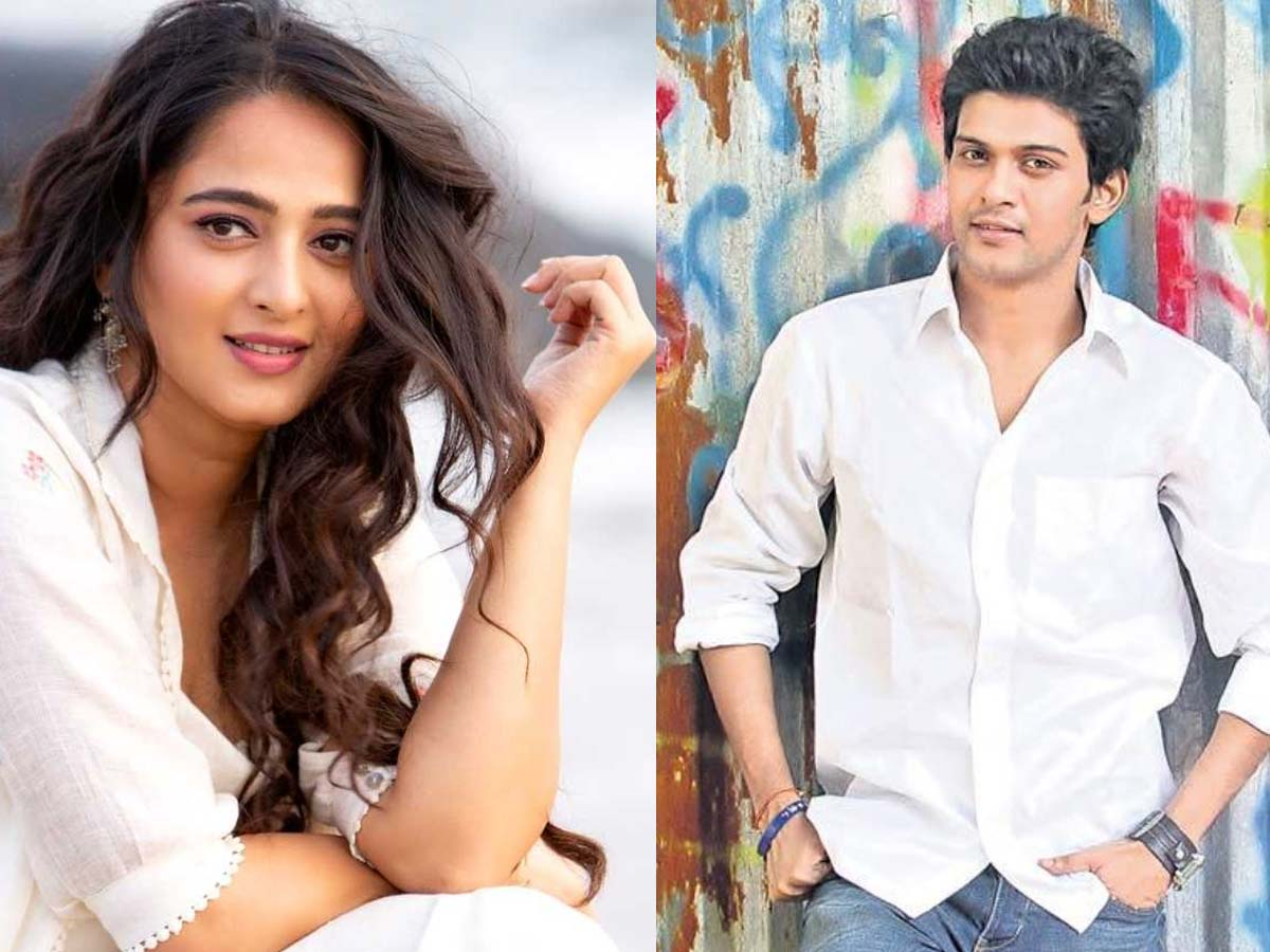 Anushka Shetty romance with Naveen Polishetty.. - Tollywood