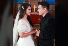 Avika Gor weds Aadil Khan in Church