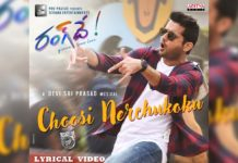 Choosi Nerchukoku from Rang De: DSP style energetic number