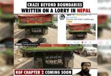 KGF Chapter 2 fever in Nepal, Craze beyond boundaries