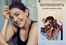 Kajal Aggarwal: My husband gift ruins me