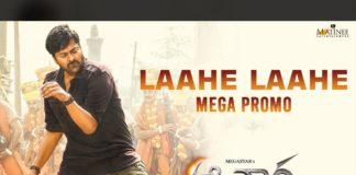 Laahe Laahe promo Entire dancing skills infused in Chiranjeevi
