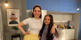 Milky Siren Tamannah with Princess Sitara