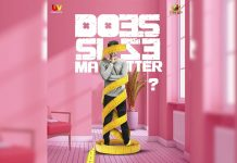 Pre Look Poster of Santhosh Shobhan and UV Concepts film: Does Size matter