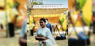 Samantha and Gunasekhar Shaakuntalam launched