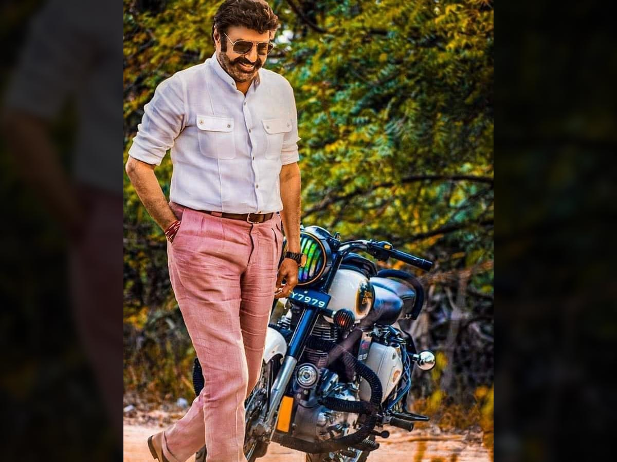Special security for Balakrishna God father look