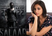 Srinidhi Shetty special song in Prabhas Salaar