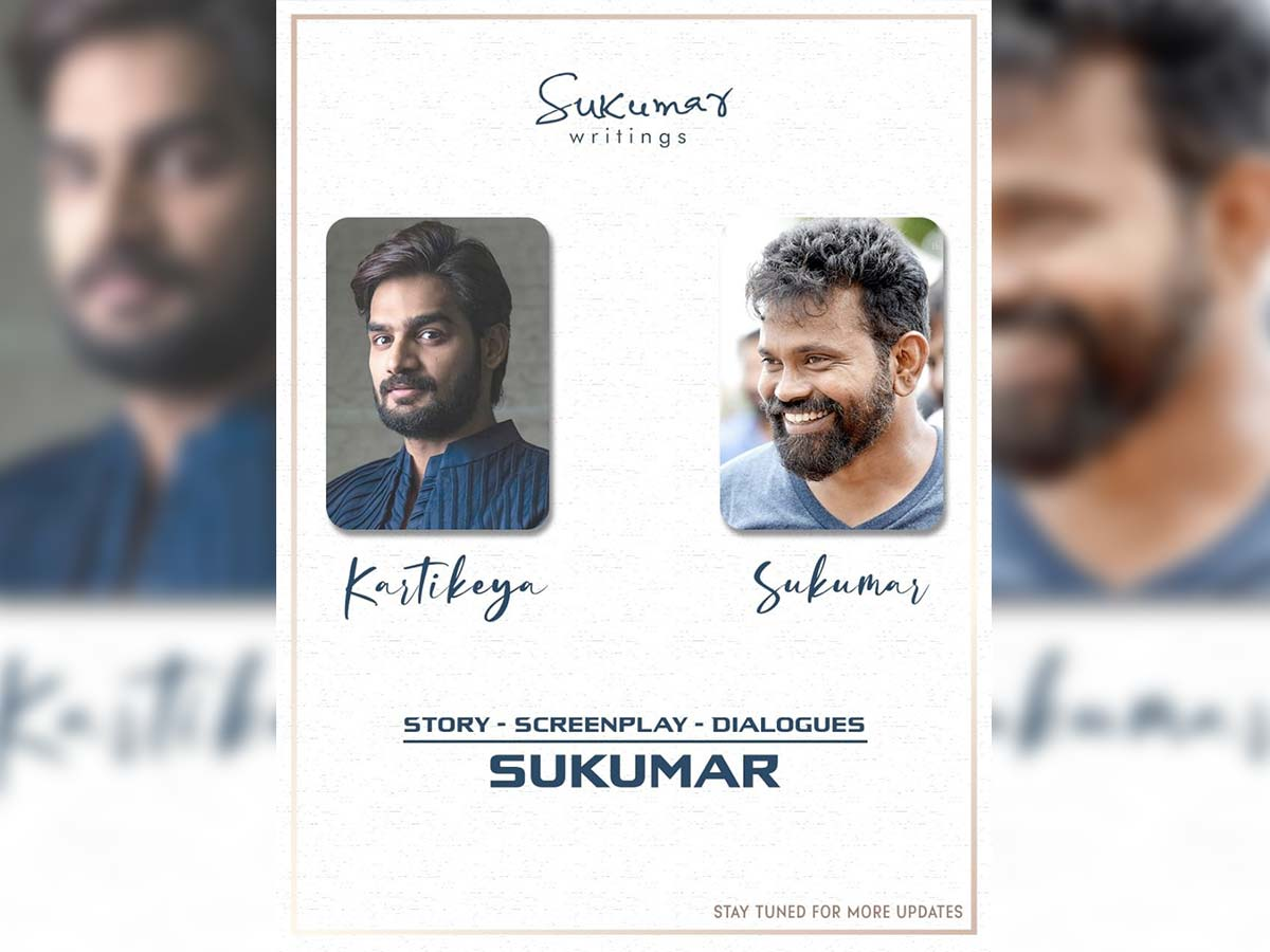 Official: Sukumar to produce Kartikeya film