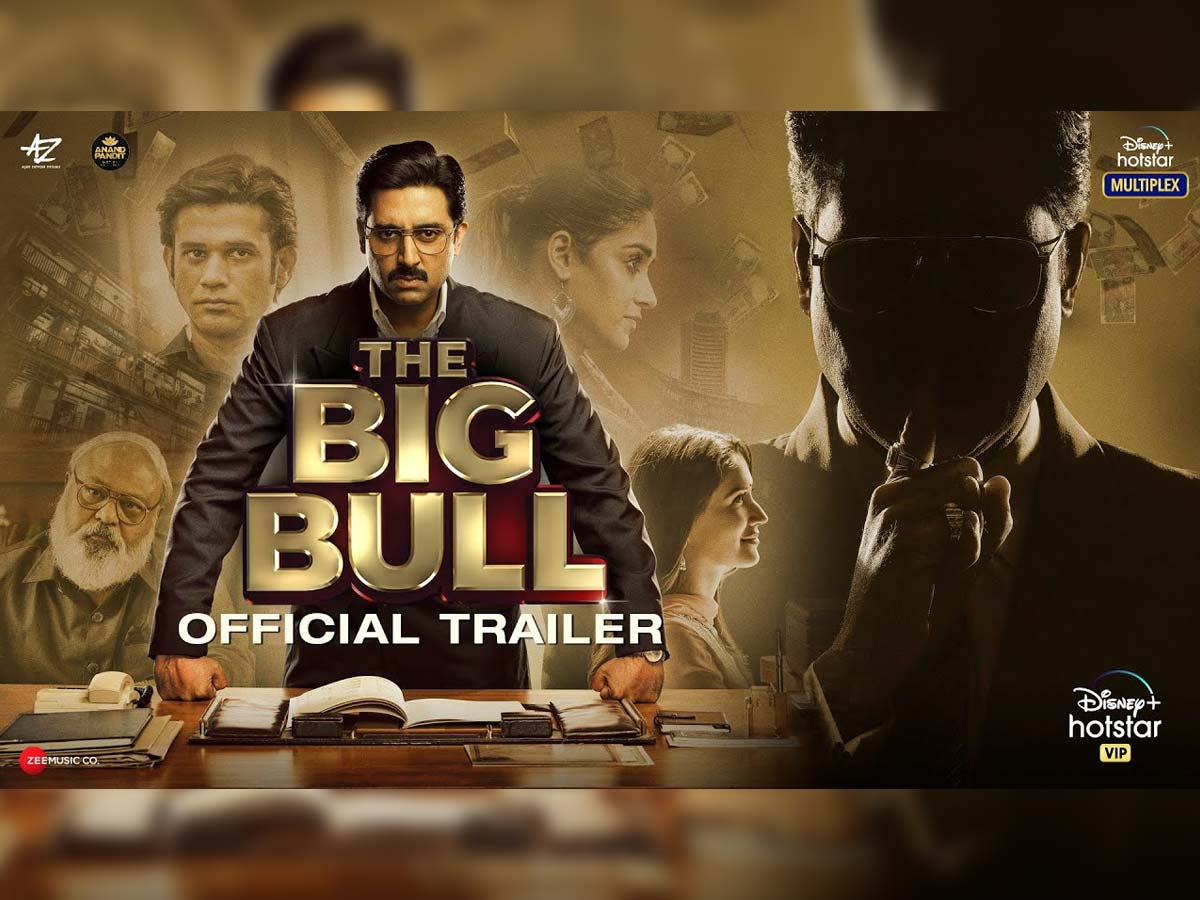 The Big Bull trailer review: Abhishek Bachchan builds an empire out of scamming people