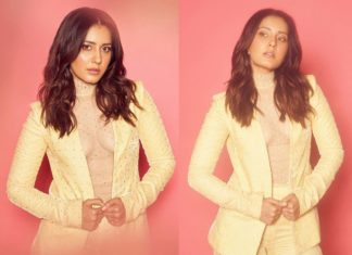 Unbearable glamour! Raashi Khanna in transparent inner wear