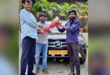 Buchi Babu gets a Benz GLC gift