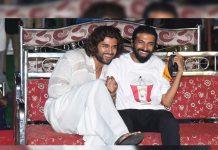 Vijay Deverakonda: I'm happy to be here for Nag Ashwin