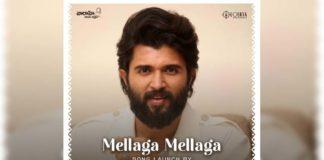 Vijay Deverakonda to launchMellaga Mellaga from Thellavarithe Guruvaram