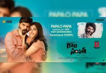 Vijay Deverakonda to release Papa O Papa: Gaali Sampath second single
