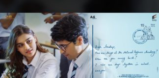 Adivi Sesh with his school time girl friend