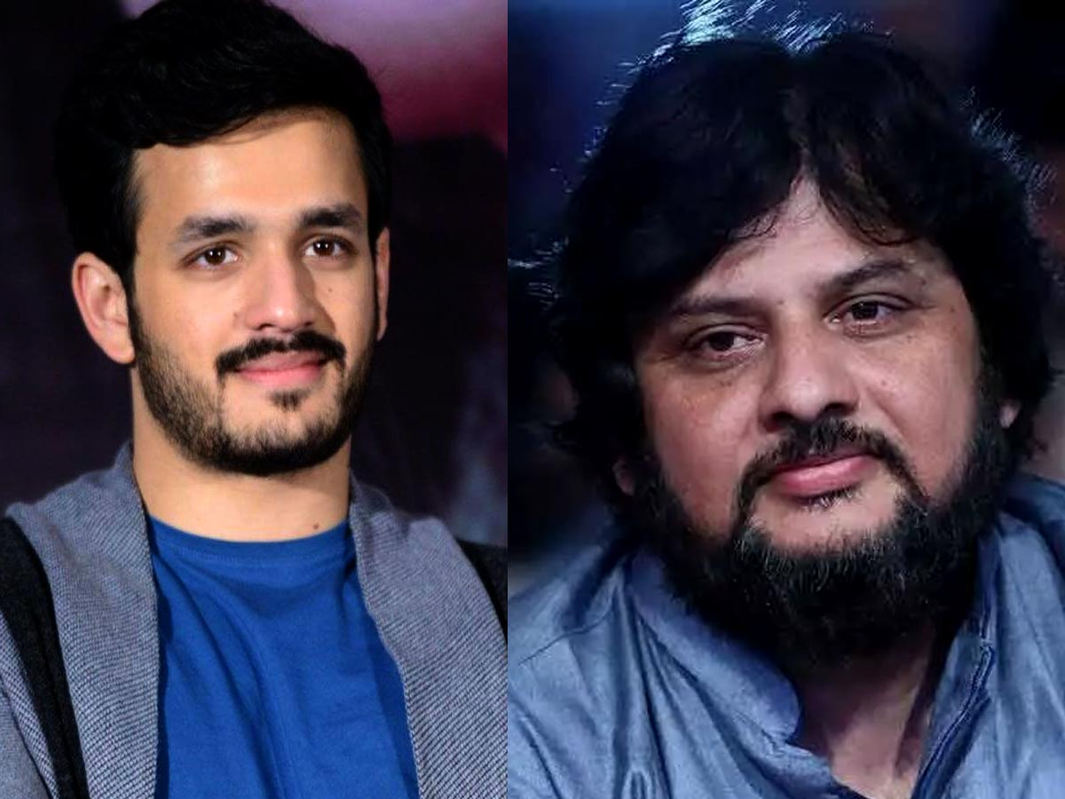 Akhil and Surender Reddy film first look this week?