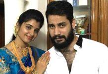 Anchor Syamala husband Narasimha Reddy arrested in cheating case
