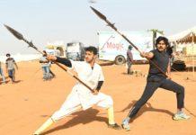 Dedication level of Pawan Kalyan: Veera in action